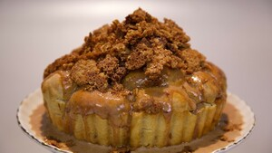 Banana-caramel monkey bread
