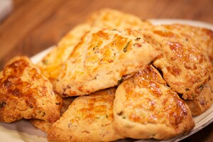 Texasstyle bacon scones