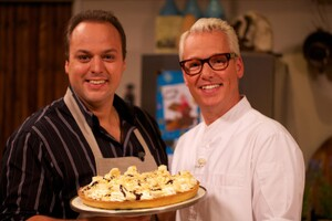 Frans Bauer in Rudolph's Bakery
