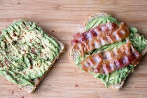 Toast met avocado