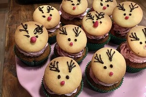 Rudolph's cupcakes