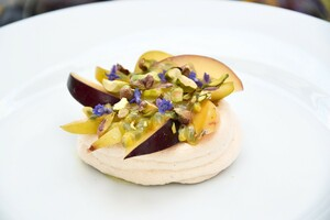 Vacherin met lemon curd