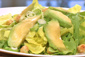 Avocadosalade met limoendressing