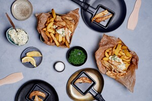 Fish en chips gourmet