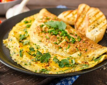 Populair recept: luchtige omelet