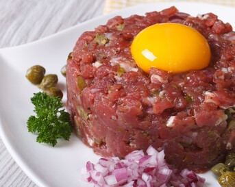 Steak tartare traditioneel