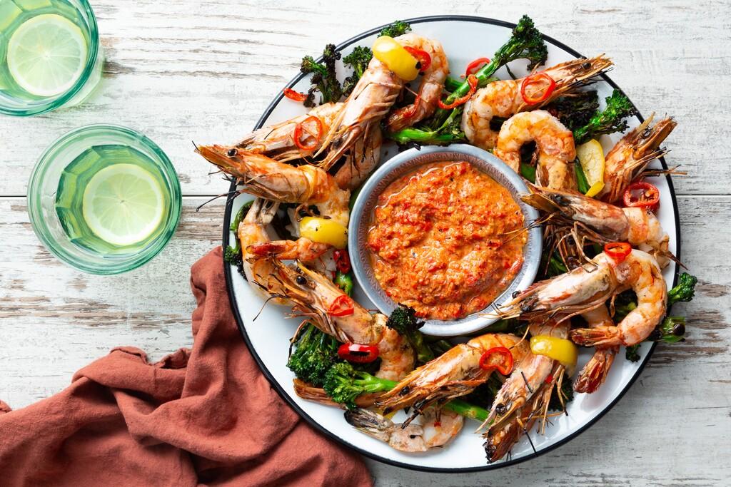 Gegrilde Gamba'S recept | Smulweb.nl